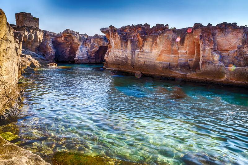 Il fascino irresistibile delle piscine naturali del salento porto selvaggio resort - Marina serra piscina naturale ...